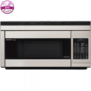 Sharp-R1874T-850W-Over-the-Range-Microwave