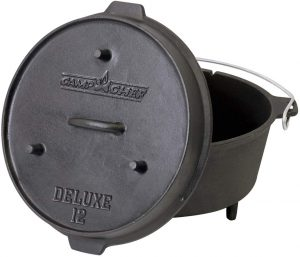 Seasoned-Cast-Iron-Camp-Oven